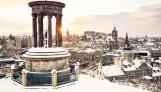 Edinburgh-Under-Snow-Winter